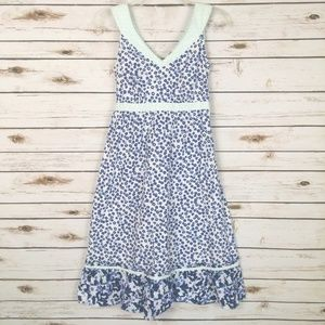 Hanna Andersson Women's Floral Dress Sleeveless 4